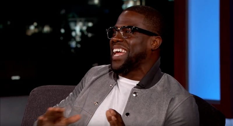 Kevin Hart upset Michael Jordan by making fun of his pants and moustache