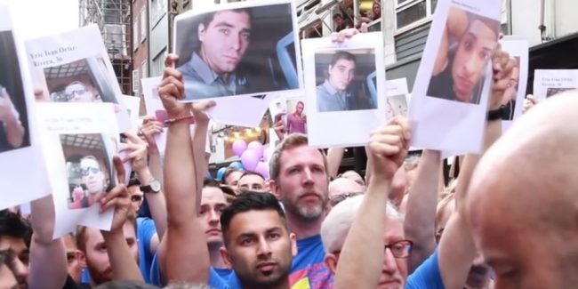 Watch: London Gay Mens' Chorus sing stunning tribute for Orlando