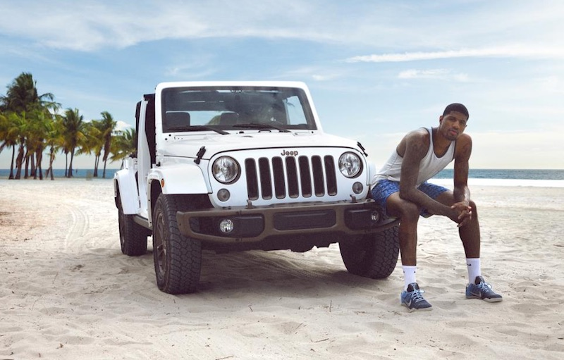Watch Paul George starring in new commercials for Jeep e0fa72b2cce5