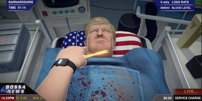 Perform surgery on Donald Trump in latest Surgeon Simulator update