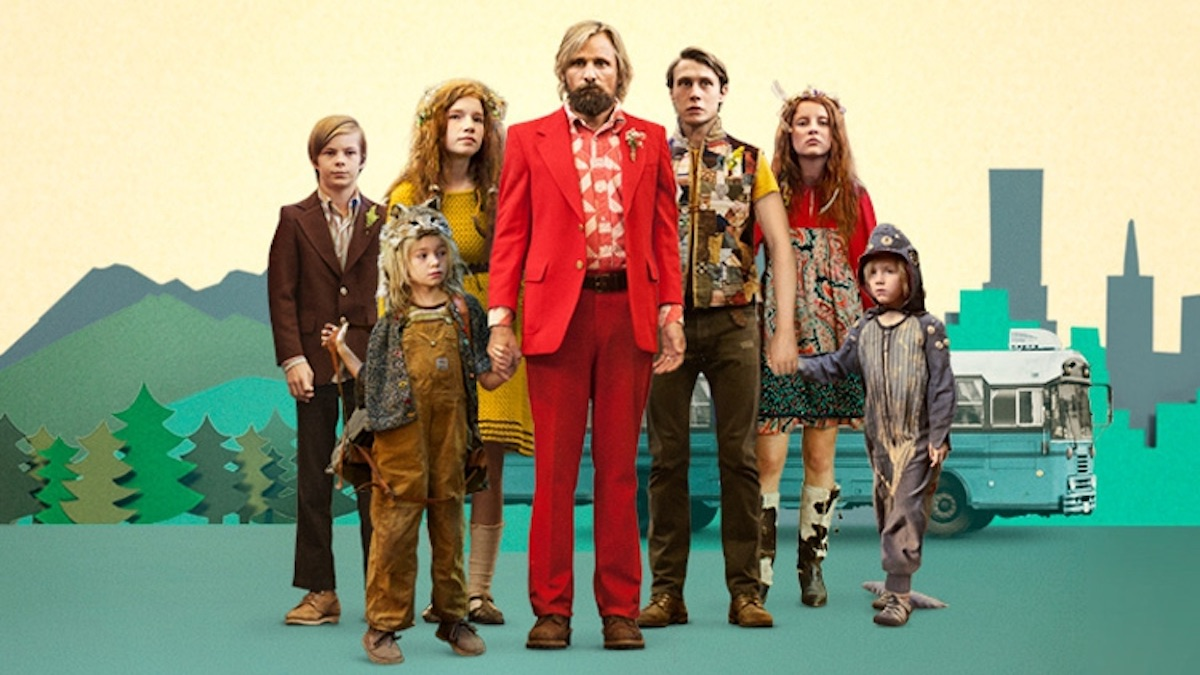 The poster for Captain Fantastic