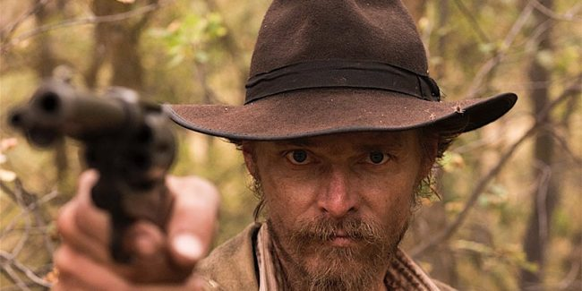 The legendary outlaw Jesse James from the finaleof The American West on AMC