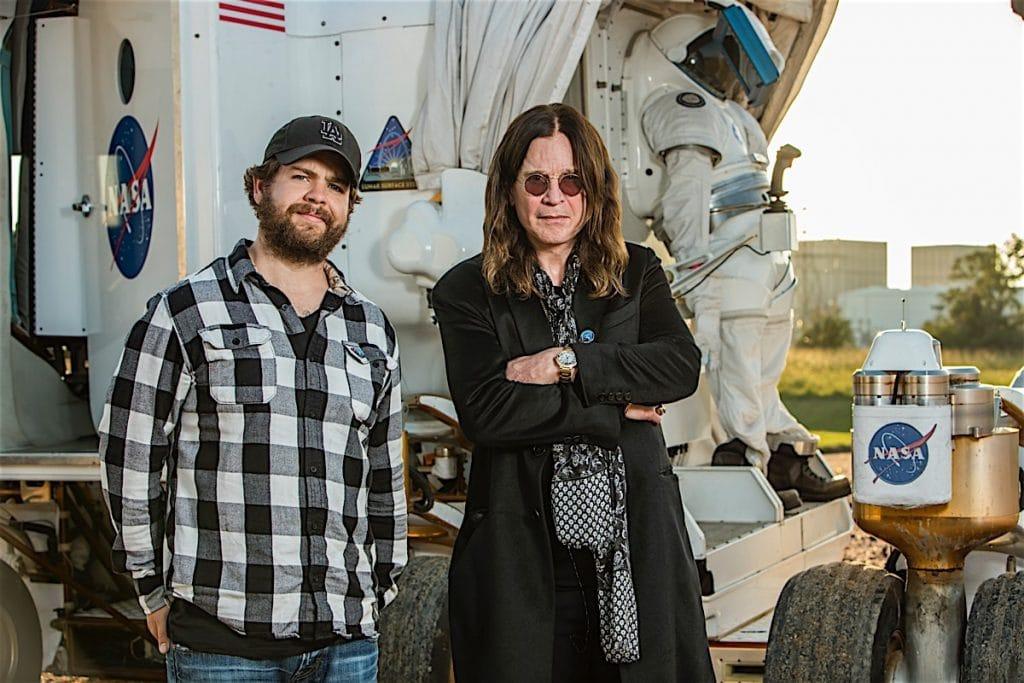 Jack and Ozzy Osbourne
