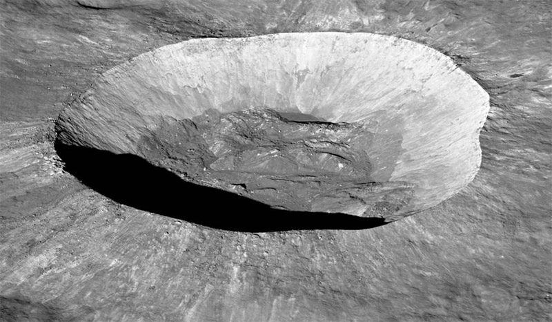 Giordano Bruno crater on the Moon