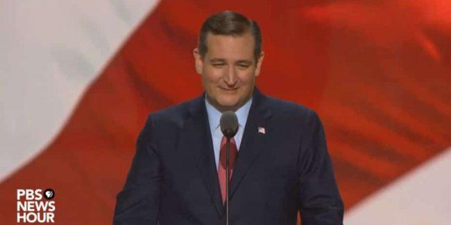 Ted Cruz drops epic 'freedom' mic on Donald Trump's RNC