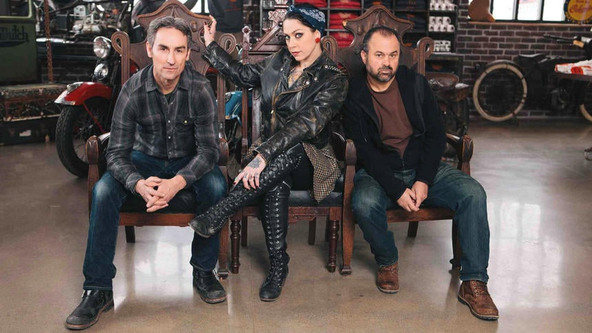 The American Pickers team