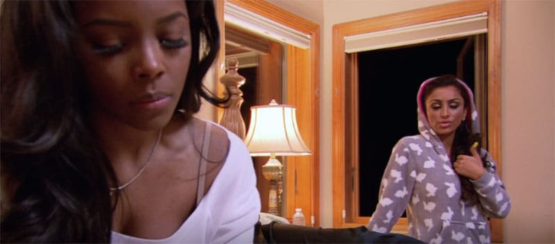 Angels go bad in Basketball Wives LA and Tami calls Brinks a pussy