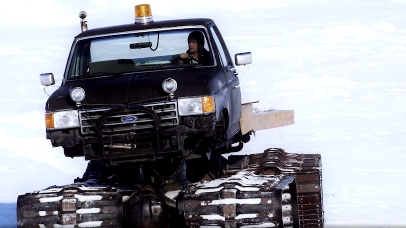 Shawn in the new season of Bering Sea Gold