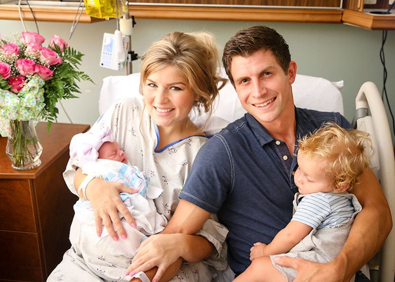 Bringing Up Bates Stars Chad And Erin Celebrate Birth Of New