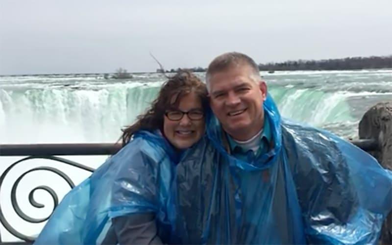 Kell Jo and Gil at Niagara Falls