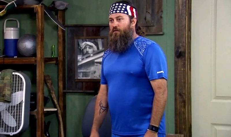 Duck Dynasty: Willie looks HILARIOUS in cycling kit as Reed replaces Jase
