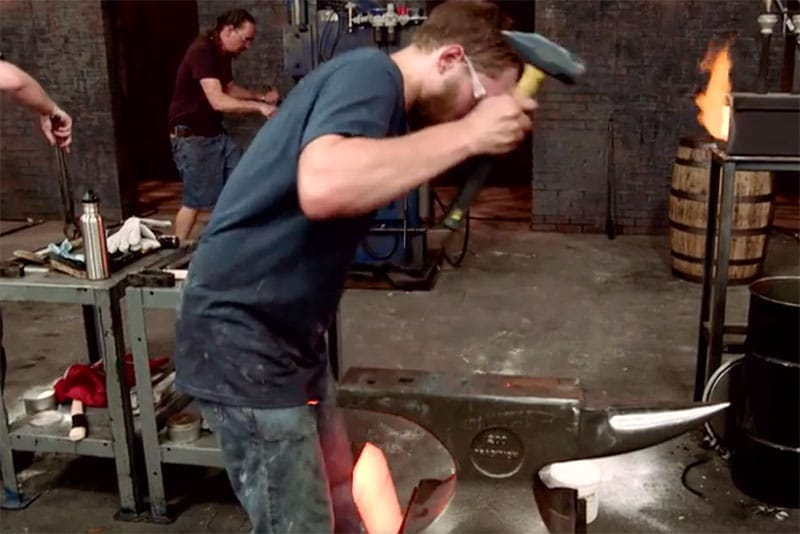 Forged in Fire accident