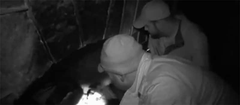 Ghost Hunters - This fireplace is found to be faulty rather than haunted