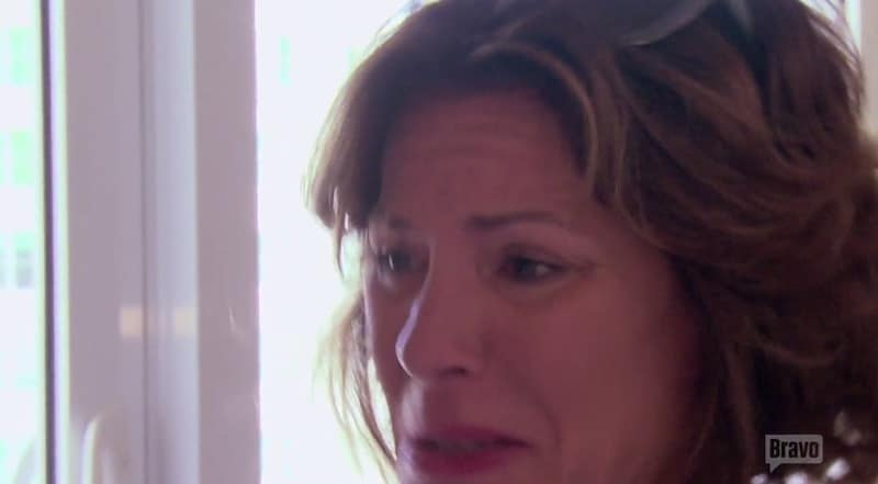 Luann de Lesseps cries on The Real Housewives of New York City