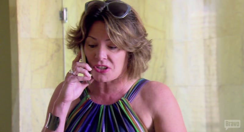 Luann lets rip at Tom over the cheating allegations on The Real Housewives of New York City