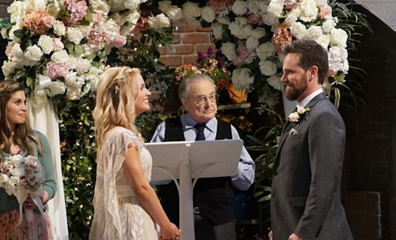 Mr Feeny officiates at Shawn and Katy's wedding on tonight's Girl Meets World
