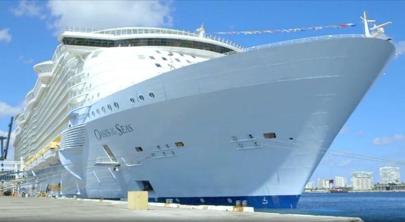 Ocean of the Seas on Mega Shippers