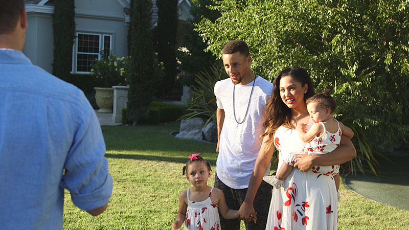 Stephen Curry S Daughter Gets Every Little Girl S Dream In