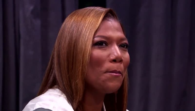 Queen Latifah on tonight's episode of The Rap Game on Lifetime