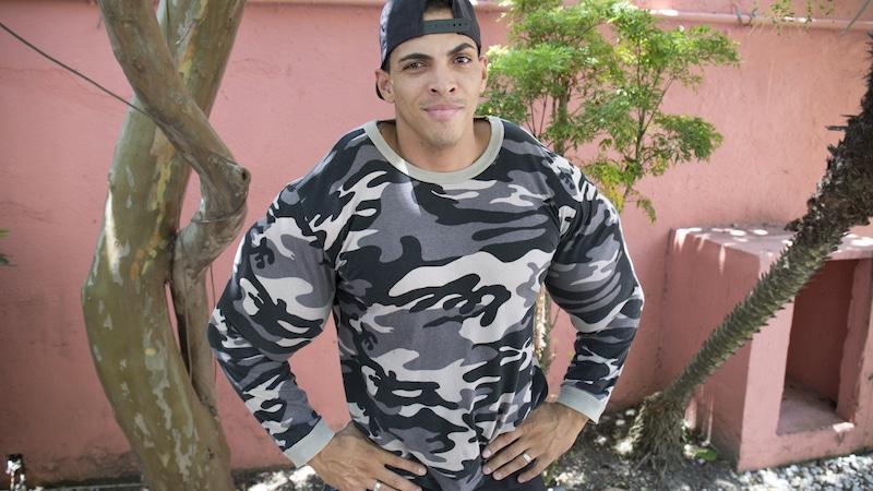 Romario dos Santos Alves posing.