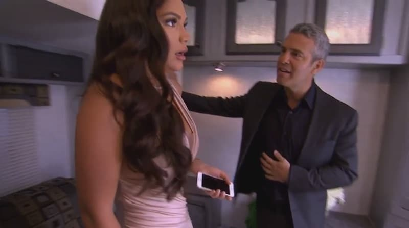 Jessica and Andy Cohen on the Shahs of Sunset reunion part 2