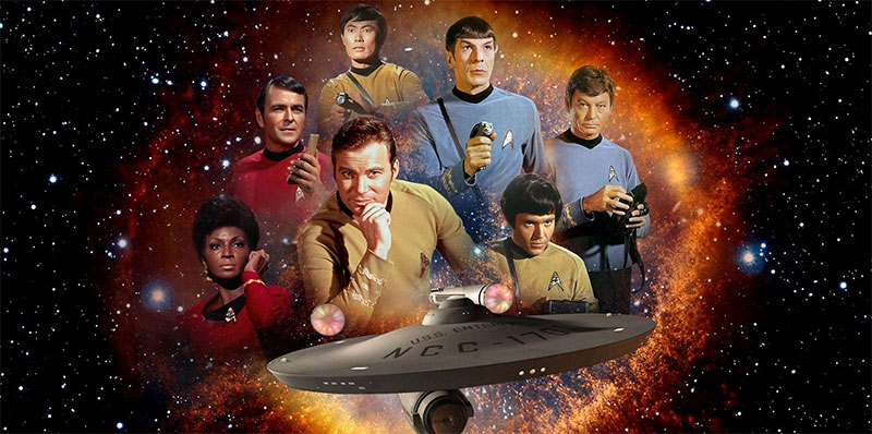 History sets phasers to stun for 50 Years of Star Trek