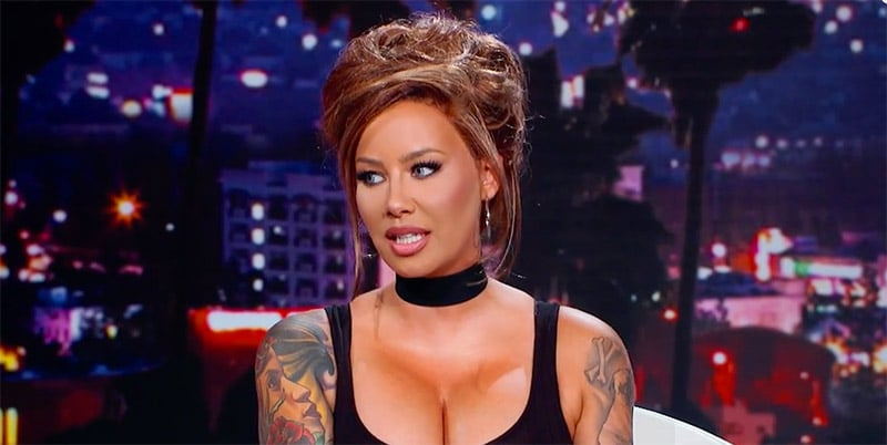 Quiet sex and scared men on The Amber Rose Show