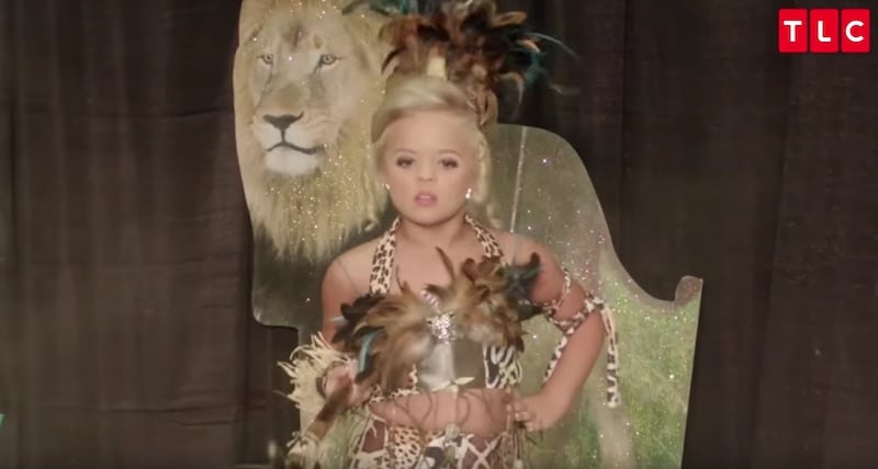 The Toddlers & Tiaras jungle pageant