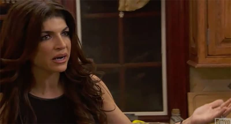'F*****g low blow' during a toxic dinner on The Real Housewives of New Jersey