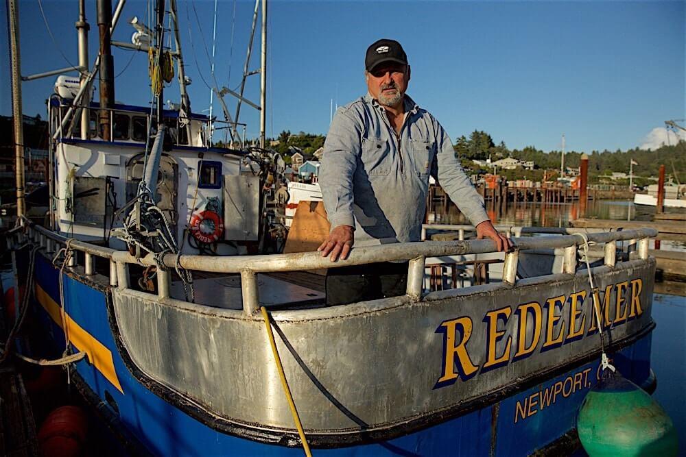 Captain Gary Ripka of the F/V Redeemer.