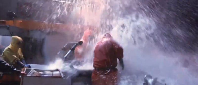 Winter storms force difficult choices on Deadliest Catch: Dungeon Cove
