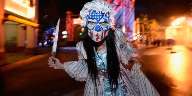 The Purge at Universal Studios Hollywood Halloween Horror Nights 2016