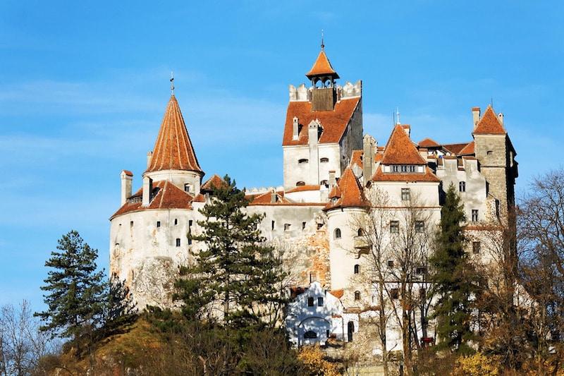 Bran Castle, on the border of Transylvania and Wallachia in Romania