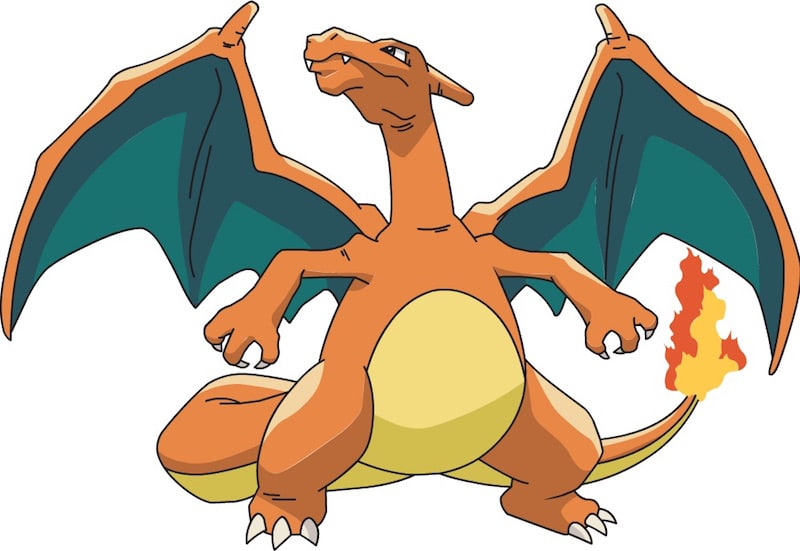A picture of Charizard