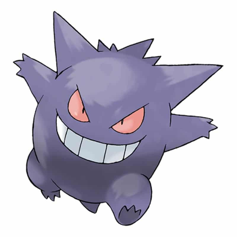 A picture of Gengar