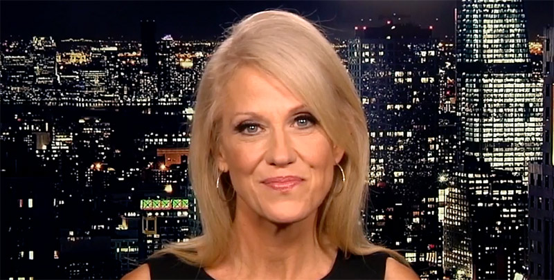 Trump campaign manager Kellyanne Conway on Real Time