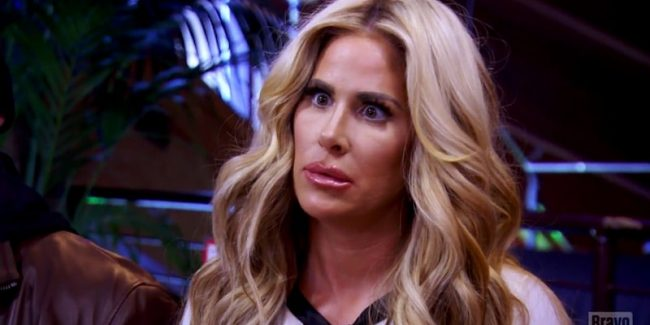 Kim pulls a face in Don't Be Tardy Season 5