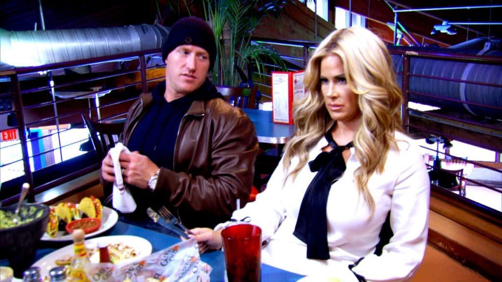 Kim and Kroy on this week's Don't Be Tardy...