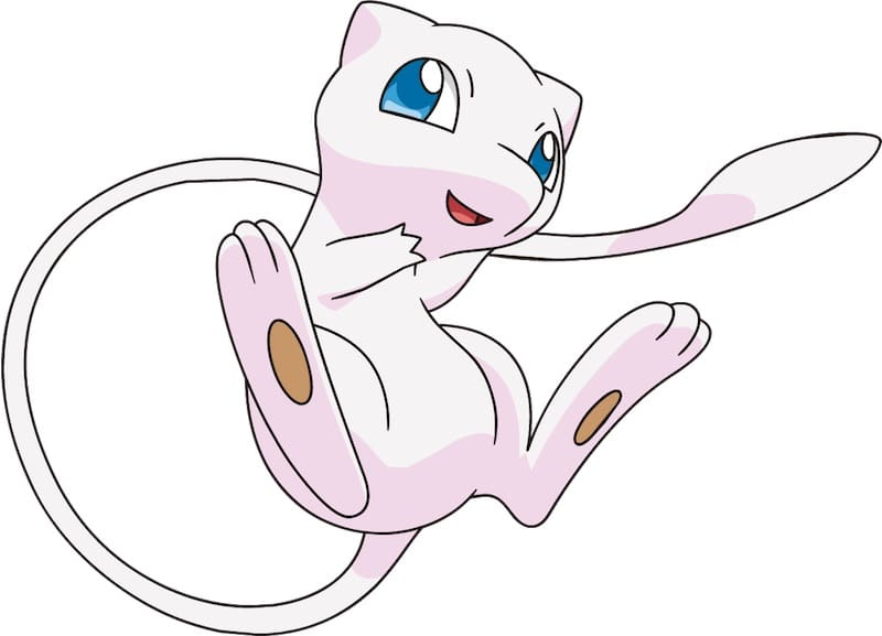 A picture of Mew