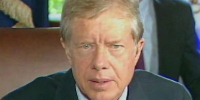 President Jimmy Carter pushed for files to be released but later backed down