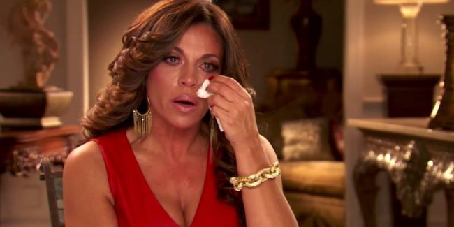 Dolores breaks down in tears as she talks about having dog Boo put down