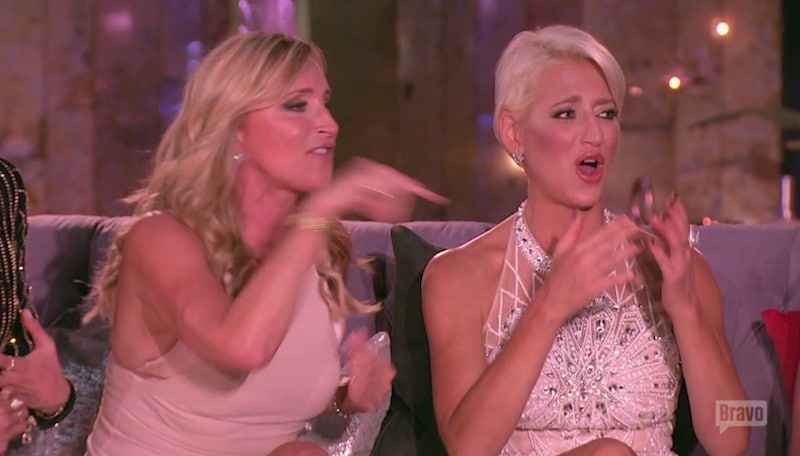 Sonja yells at Bethenny before storming out on the final part of The Real Housewives of New York City reunion
