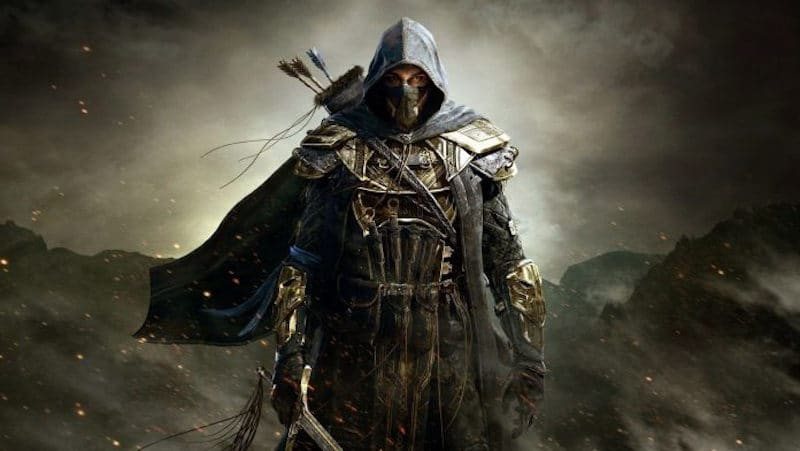 A promotional image of The Elder Scrolls Online