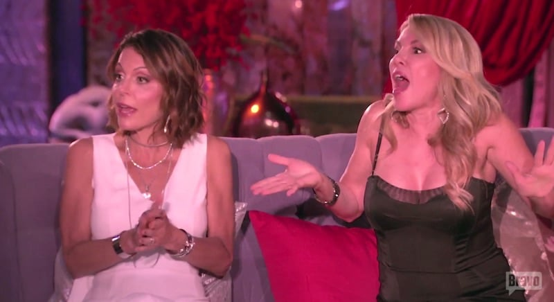 Bethenny and Ramona argue with Luann about Tom's dating on tonight's The Real Housewives of New York City