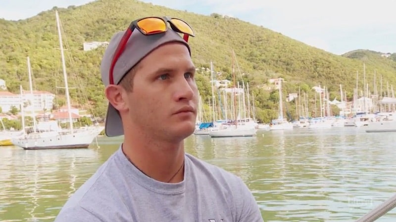 Trevor gets a talking to by Kelley on Season 4 Episode 3 of Below Deck