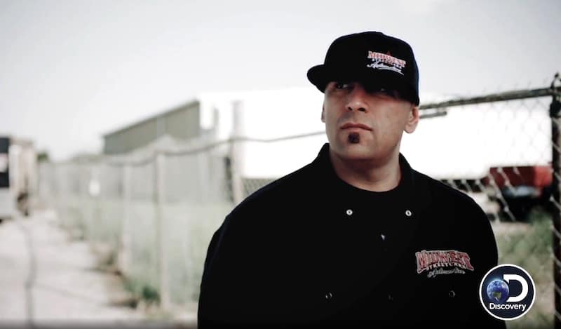 Big Chief in footage from the Season 8 of Street Outlaws on Discovery