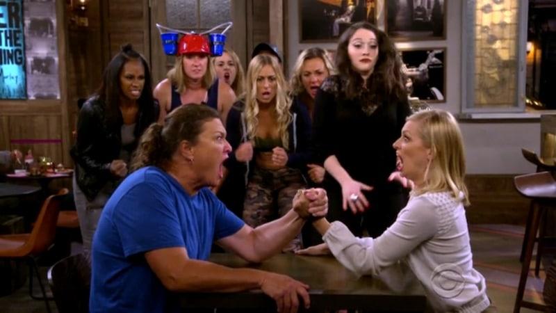 Caroline takes on Big Reba in this week's 2 Broke Girls