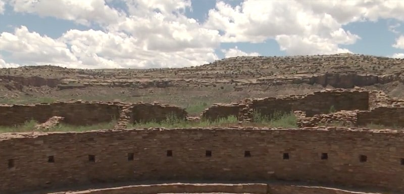 The buildings cover a vast area and are some of the best pre-Columbian archeology