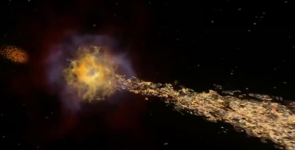 Doomsday When Stars Collide And Earth Is Hit By Massive Gamma Ray Burst
