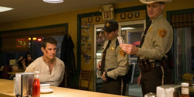 Tom Cruise in Jack Reacher: Never Go Back, which he will talk about on Jimmy Kimmel Live